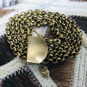 Waxing Poetic Gold Multi Strand Rolo Bracelet